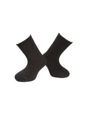 Носки махровые MilanKo. Цвет: черный
