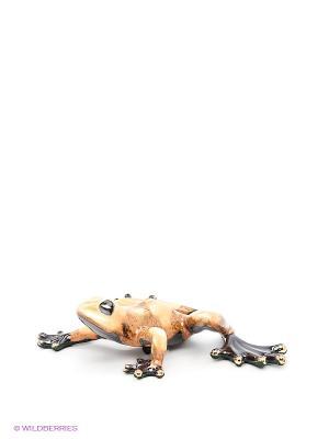 Фигурка Лягушка Pavone. Цвет: коричневый, оранжевый