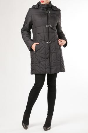Пальто HDS. Цвет: черный