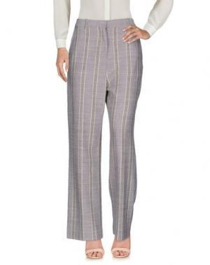 Повседневные брюки ACNE STUDIOS. Цвет: фиолетовый
