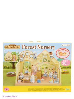 Набор Лесной детский сад Sylvanian Families. Цвет: бежевый
