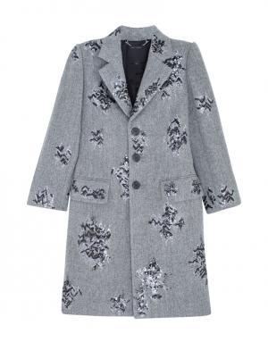 Шерстяное пальто Marc Jacobs. Цвет: серый