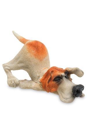 Фигурка Собака Пойнтер The Comical World of Stratford. Цвет: бежевый, оранжевый