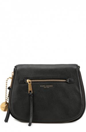 Кожаная сумка Recruit Marc Jacobs. Цвет: черный