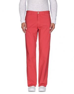 Повседневные брюки MURPHY & NYE. Цвет: коралловый