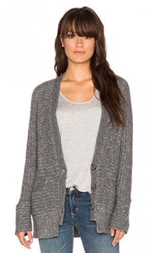 Кардиган janne 360 Sweater. Цвет: темно-серый