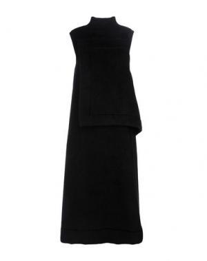 Платье длиной 3/4 TER ET BANTINE. Цвет: черный