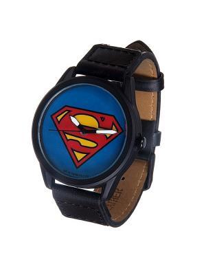 Часы Mitya Veselkov Супермен. Цвет: черный