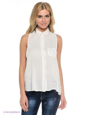 Блузка Fullah Sugah. Цвет: молочный