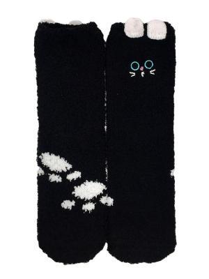 Носки HOBBY LINE. Цвет: черный, белый