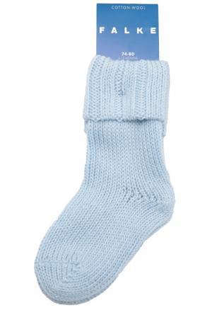Носки Cotton Wool Falke. Цвет: голубой