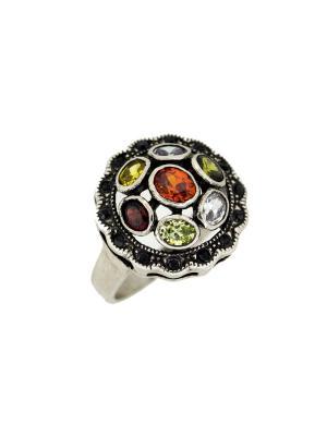 Кольцо Incognito.. Цвет: зеленый, желтый, красный