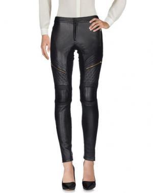 Повседневные брюки SKINGRAFT. Цвет: черный