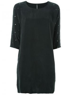 Платье Eliv Minimarket. Цвет: чёрный