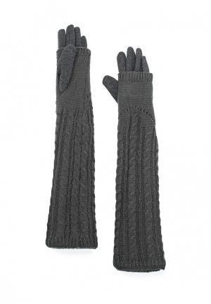 Перчатки Pur. Цвет: серый