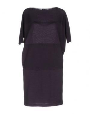 Короткое платье NEERA. Цвет: темно-фиолетовый