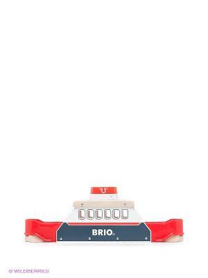 Игрушка Паром BRIO. Цвет: красный, светло-коричневый