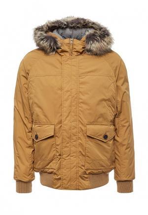 Куртка утепленная Sela. Цвет: желтый