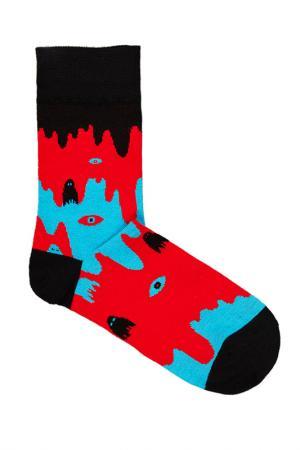Носки Lava. Цвет: красный