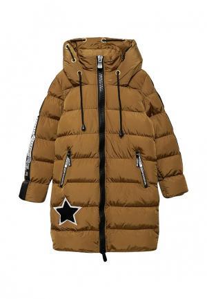Куртка утепленная Jan Steen. Цвет: хаки