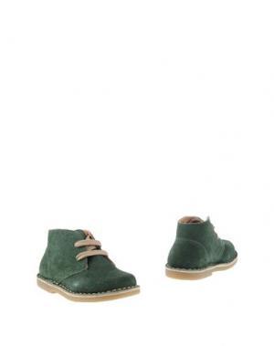 Полусапоги и высокие ботинки OCA-LOCA. Цвет: зеленый