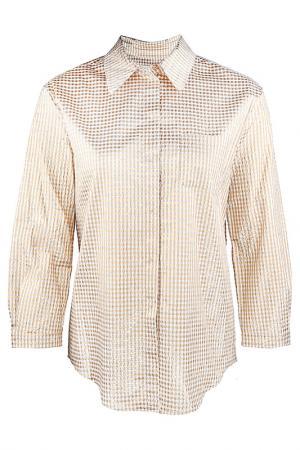 Рубашка LAutre Chose L'Autre. Цвет: золотой