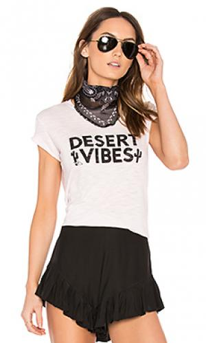 Desert vibes banner tee TYLER JACOBS. Цвет: розовый