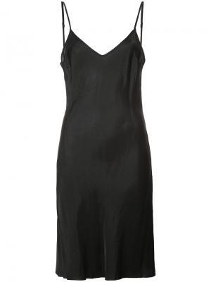 Платье на бретелях Organic By John Patrick. Цвет: чёрный
