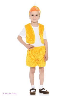 Карнавальный костюм Утенок желтый Батик. Цвет: желтый