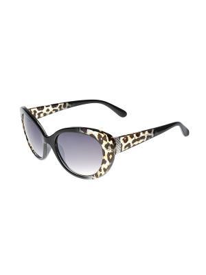 Солнцезащитные очки Gusachi. Цвет: коричневый, сиреневый, черный