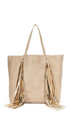 Повседневная объемная сумка для покупок с короткими ручками Sara Battaglia