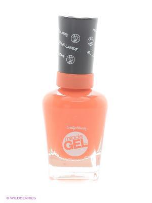 Гель лак для ногтей Miracle Gel, Тон 620 tribal sun SALLY HANSEN. Цвет: оранжевый