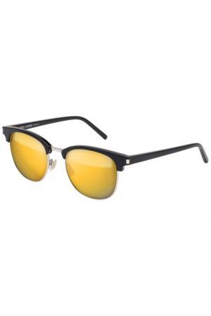 Солнцезащитные очки Saint Laurent. Цвет: 001