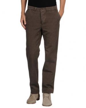 Повседневные брюки J.W. BRINE. Цвет: хаки
