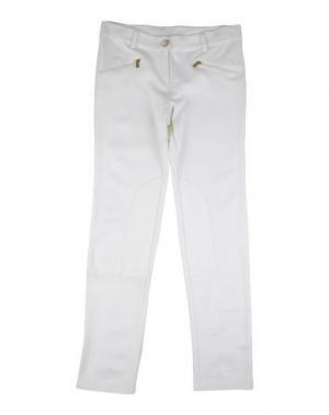 Повседневные брюки T-LOVE. Цвет: слоновая кость