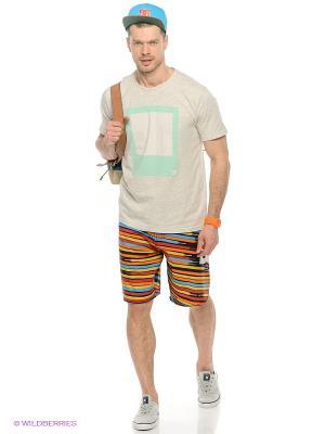 Бордшорты LACE STRIPE DC Shoes. Цвет: черный, коричневый, голубой, оранжевый, желтый