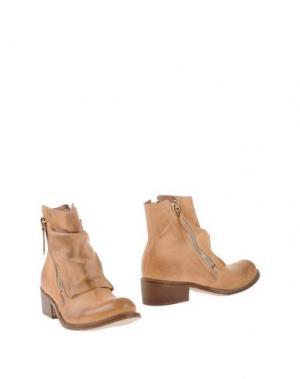 Полусапоги и высокие ботинки MANILA GRACE DENIM. Цвет: песочный