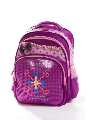 Рюкзак Vittorio Richi. Цвет: фиолетовый, розовый