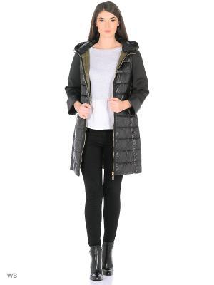 Пальто Snow Guard. Цвет: черный