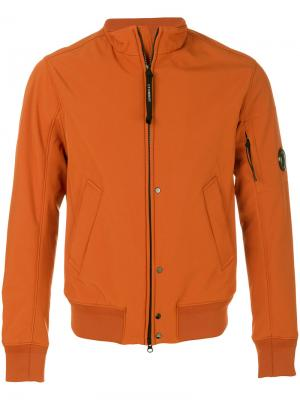 Куртка на молнии CP Company. Цвет: жёлтый и оранжевый