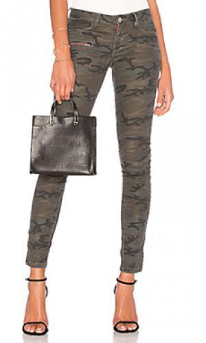 Узкие брюки Etienne Marcel. Цвет: военный стиль