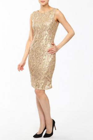 Платье Frank Lyman Design. Цвет: золотой
