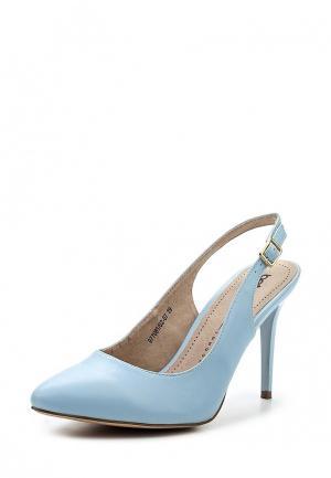 Туфли Betsy. Цвет: голубой