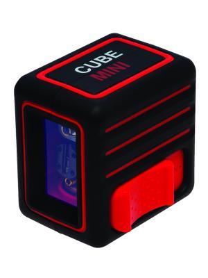 Построитель лазерных плоскостей ADA Cube MINI Basic Edition instruments. Цвет: черный, красный
