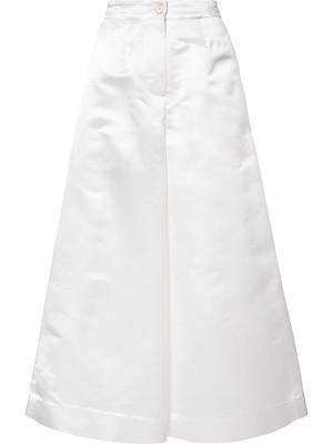 Широкие брюки Tome. Цвет: белый