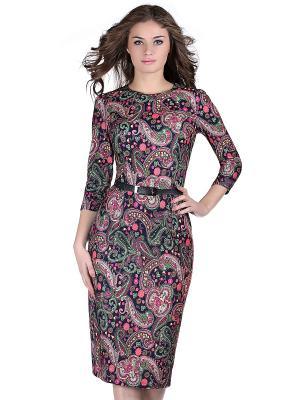 Платье OLIVEGREY. Цвет: темно-синий, зеленый, малиновый