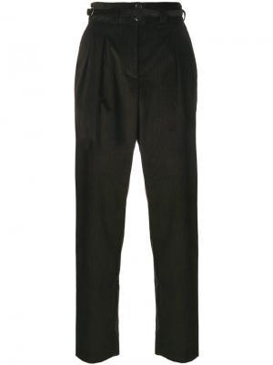 Вельветовые брюки с пряжкой A.P.C.. Цвет: коричневый