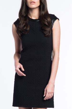 Платье Dilvin. Цвет: черный