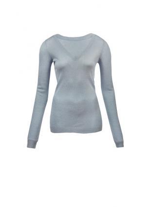 Пуловер MY STYLE. Цвет: бежевый/розовый/золотистый, белый/серебристый