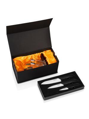 Набор ножей RKN-103 REDMOND. Цвет: черный